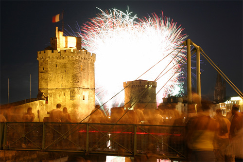 la rochelle, feu d'artifice, photo pascal lando